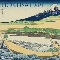 Hokusai, Katsushika. teNeues Kunstkalender 2021. (Kalender 2021)