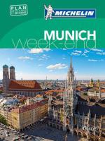 Michelin Le Guide Vert Munich Week-End