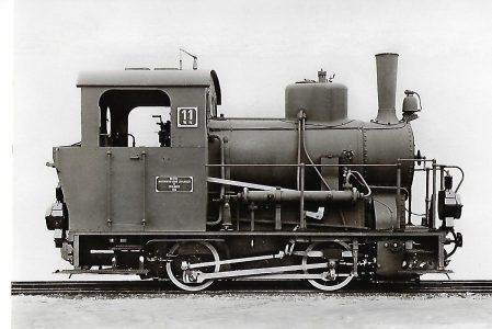 Württembergische Nebenbahnen AG, Lok Nr. 11 der Härtsfeld-Bahn. Eisenbahn Bestell-Nr. 1011