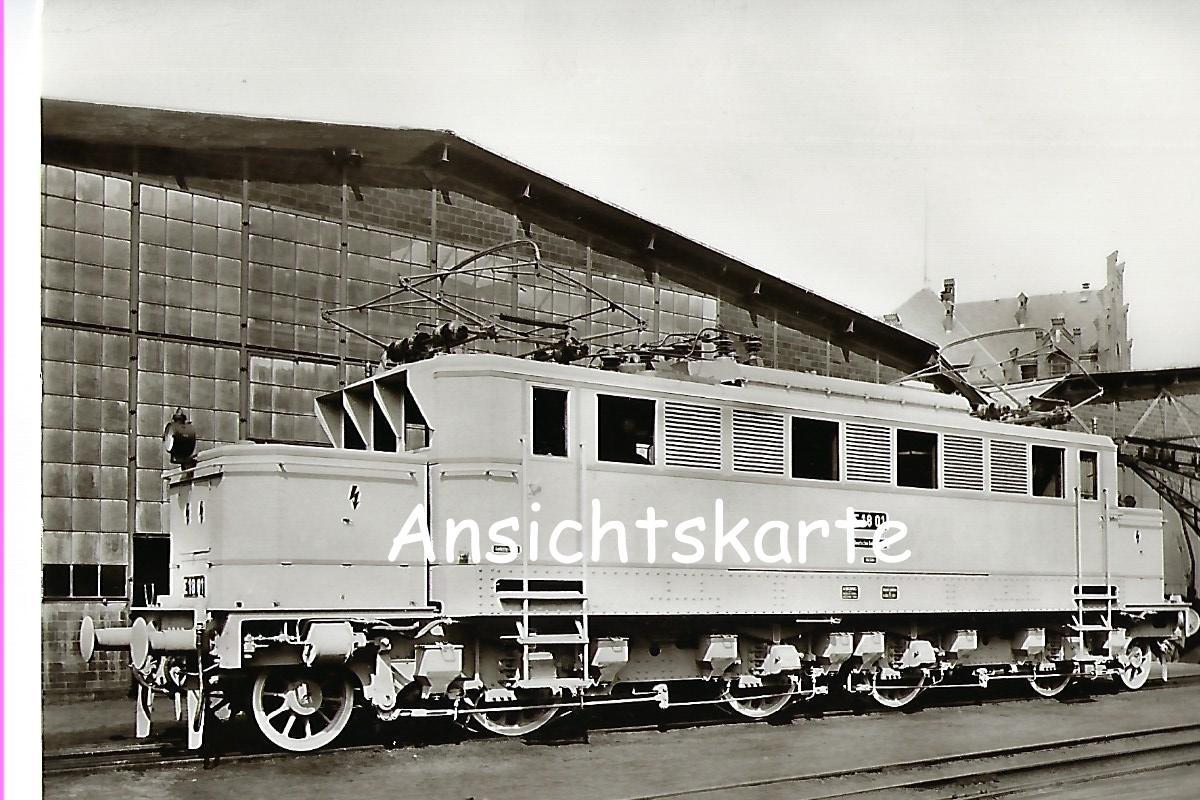 Schnellzug-Lokomotive E 18 01 (später DR E 15 01), Borsig 1927, Borsigwerke Tegel. Eisenbahn Bestell-Nr. 1022
