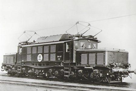 Güterzug-Lokomotive E 94 157. 100. AEG- Lokomotive der BR 94. Eisenbahn Bestell-Nr. 1066