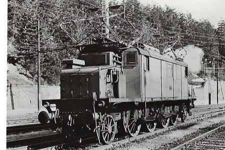 FS Italienische Staatsbahnen, Drehstrom-Lokomotive E 432 006, Breda 1928. Eisenbahn Bestell-Nr. 1074