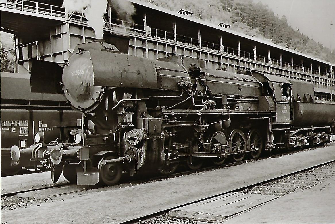52.3555 ÖBB Güterzug-Lokomotive. Eisenbahn Bestell-Nr. 1121