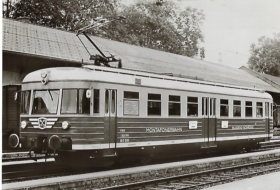 Montafonerbahn AG. Bludenz-Schruns ET 10.101. Eisenbahn Bestell-Nr. 1126