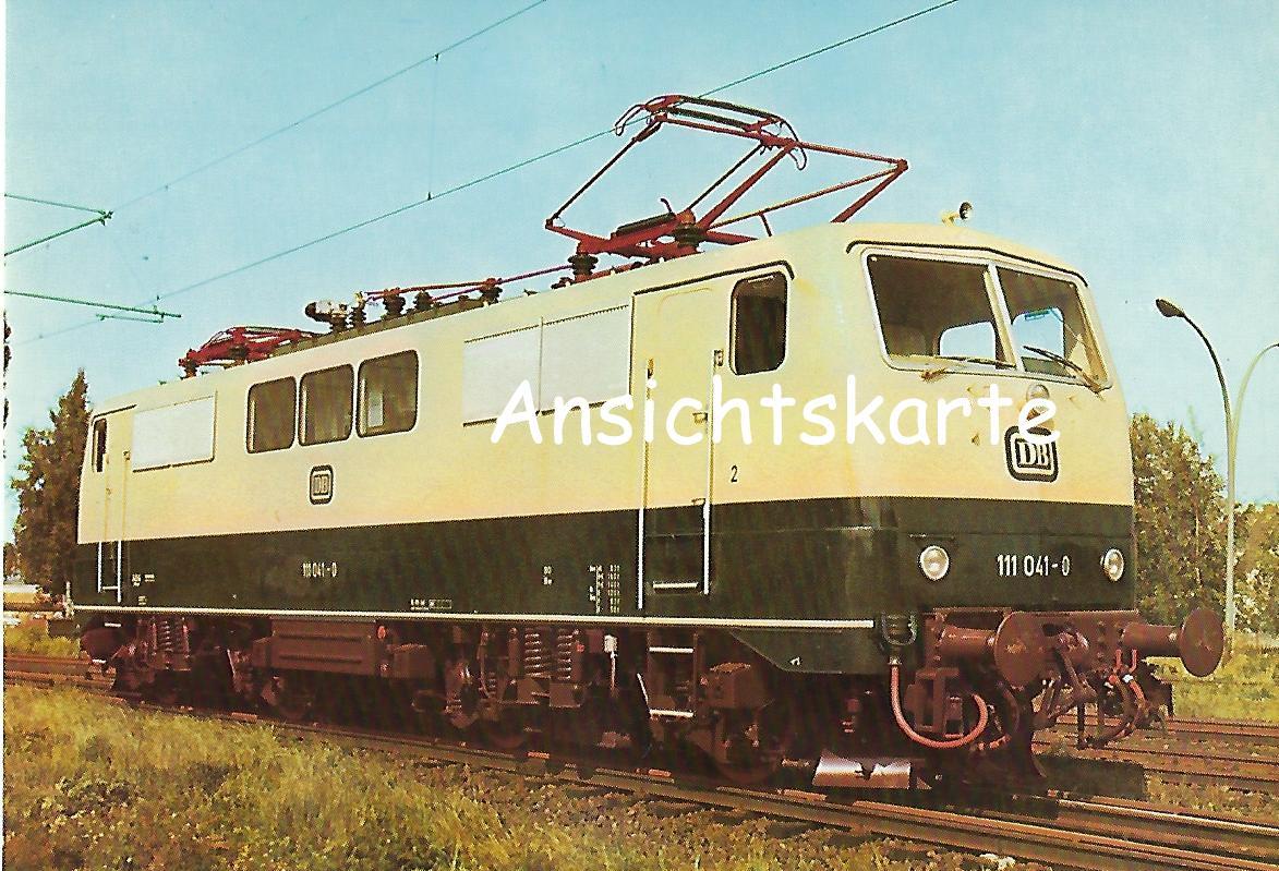 DB, Elektrische Schnellzuglokomotive 111 041. (1156)