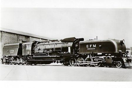 Eisenbahnen in ehem. Portugiesisch-Ostafrika. Gelenk-Lokomotive Nr. 971. Eisenbahn Bestell-Nr. 1163