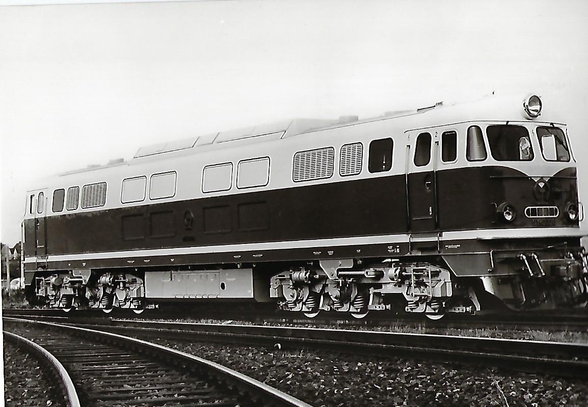 Eisenbahnen der Volksrepublik China, Baujahr 1966. Eisenbahn Bestell-Nr. 1199