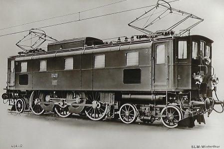 SBB Elektrische Lokomotive Nr. 10 401. Eisenbahn Bestell-Nr. 1217
