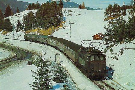 Garmisch-Partenkirchen-Mittenwald Elektr. Lokomotive 144 097. Eisenbahn Bestell-Nr. 1223
