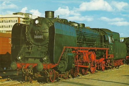 DR Schnellzug-Lokomotive 03 001. Eisenbahn Bestell-Nr. 1233
