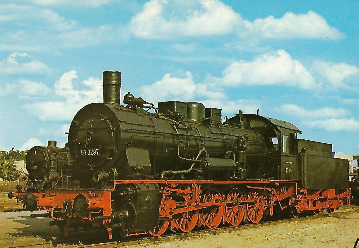 DR Güterzug-Lokomotive 57 3297. Eisenbahn Bestell-Nr. 1235