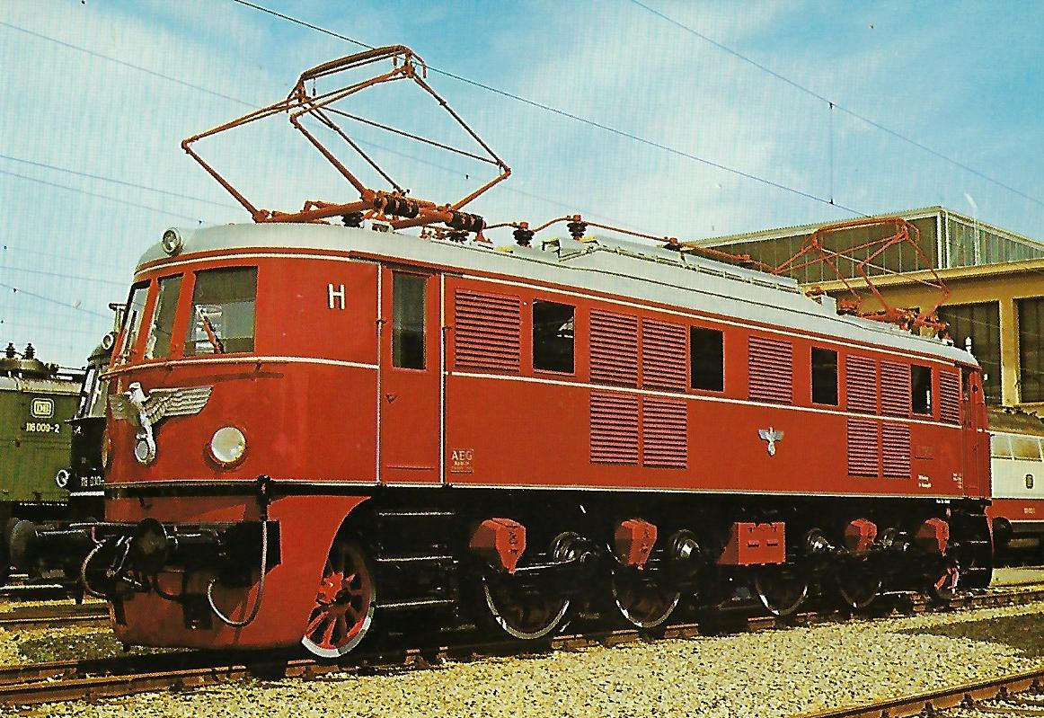 Schnellzug-Lokomotive E 19 01. Eisenbahn Bestell-Nr. 1236