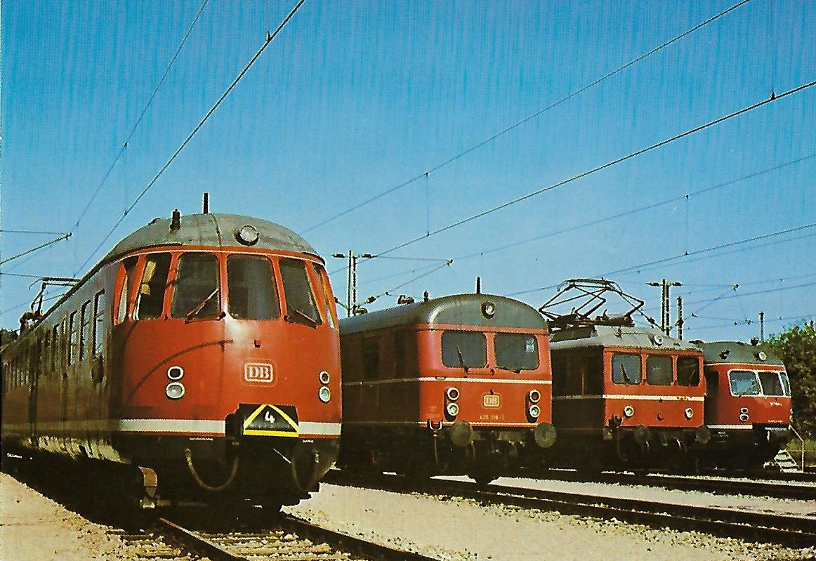 DB BR 430, BR 465, BR 426, BR 517. Eisenbahn Bestell-Nr. 1239