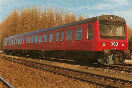 Dänische Staatsbahnen DSB MR 4006. Eisenbahn Bestell-Nr. 1251