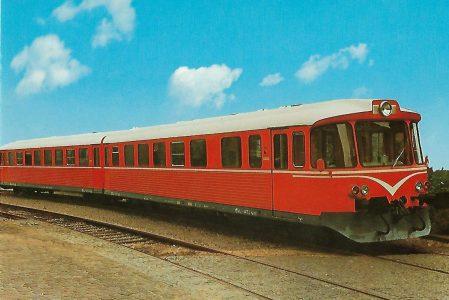 Dänische Privatbahn. Zweiteiliger Dieseltriebzug Ym 53/Yv 253. Eisenbahn Bestell-Nr. 1252