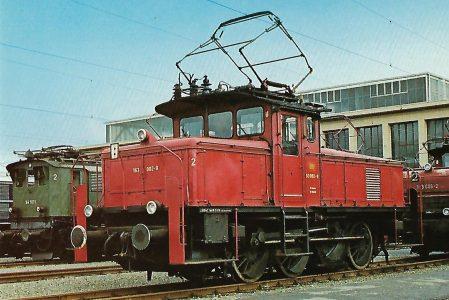 DB Rangierlokomotive 163 002-9. Eisenbahn Bestell-Nr. 1255