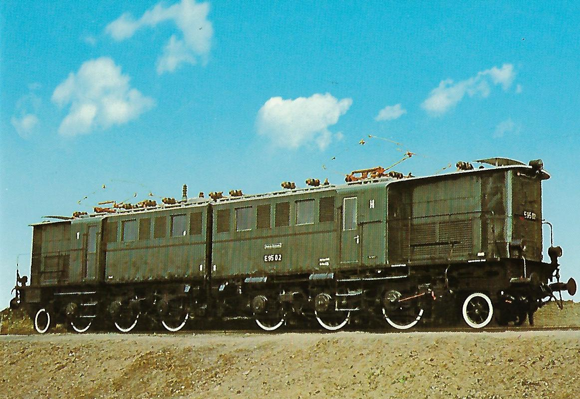 DR Güterzug-Lokomotive E 95 02. Eisenbahn Bestell-Nr. 1262