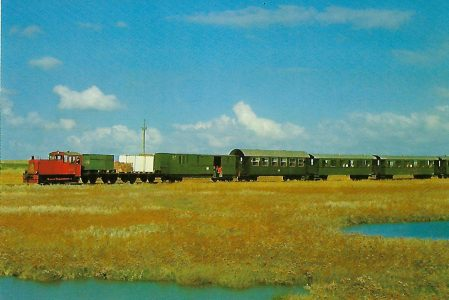 DB-Baureihe 329 Inselbahn Wangerooge. Eisenbahn Bestell-Nr. 1280