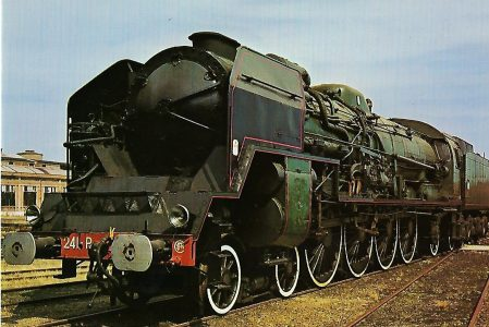 Französische Staatsbahnen Est 241 Schnellzug-Lokomotive SNCF 241 P. Eisenbahn Bestell-Nr. 1286