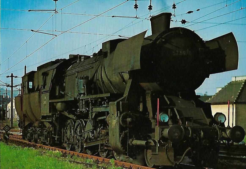 ÖBB Güterzug-Lokomotive 52.6970. Eisenbahn Bestell-Nr. 1287