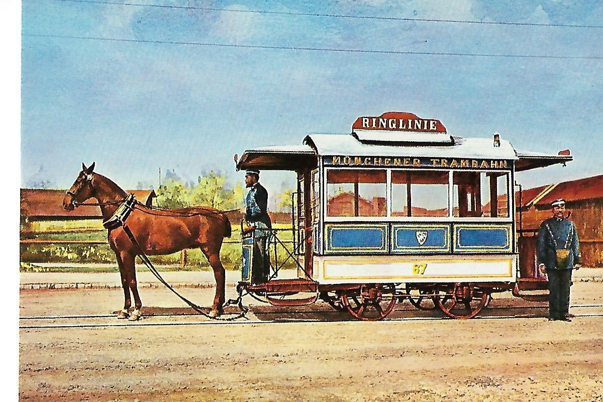 Geschlossener Pferdebahnwagen 87, Straßenbahn Bestell-Nr. 6001