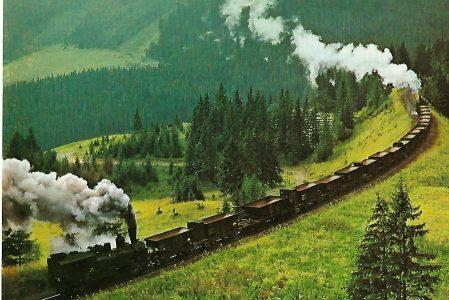 ÖBB Erzbergbahn zwischen Vordernberg und Präbichl. Eisenbahn Bestell-Nr. 1295