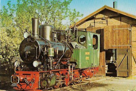 "Jagsttalbahn Schmalspurlokomotive ""Helene"". Eisenbahn Bestell-Nr. 5028"
