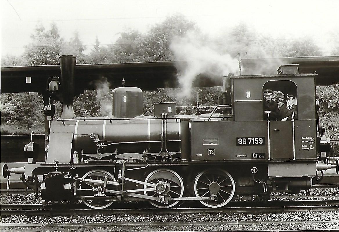 "Tenderlokomotive ""Altona 6158"". Preußische T 3. Eisenbahn Bestell-Nr. 5041"