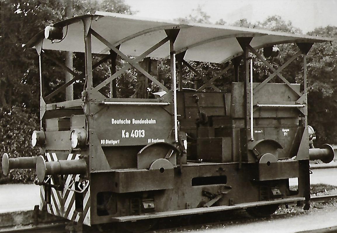 Akku-Kleinlokomotive Ka 4013. Eisenbahn Bestell-Nr. 5114