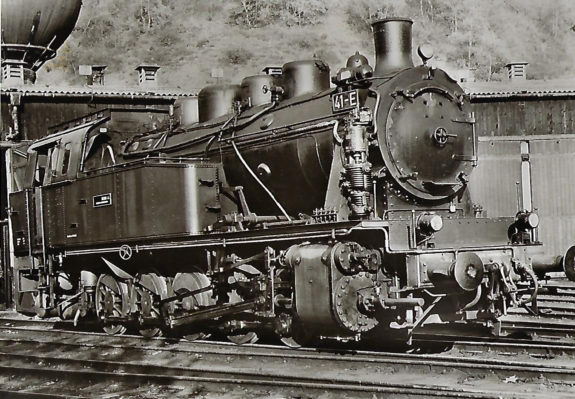 Lokomotive 41-E der Bergbau AG Herne / Recklinghausen. Eisenbahn Bestell-Nr. 5117
