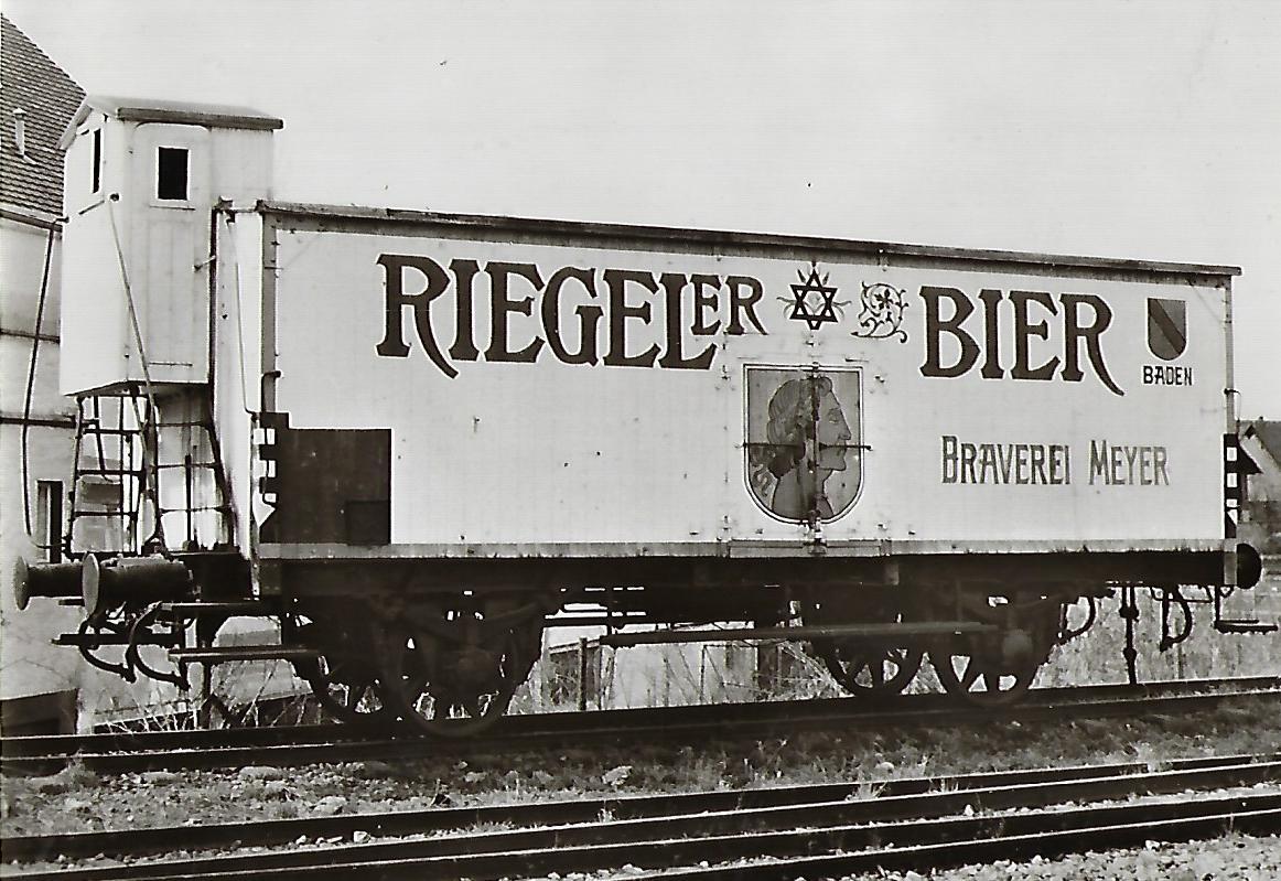Güterwagen Gattung G 10 der Brauerei-Gesellschaft Meyer & Söhne. Eisenbahn Bestell-Nr. 5118
