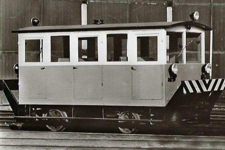 Bahnmeister-Draisine S 3 der Bergbau AG Herne/Recklinghausen. Eisenbahn Bestell-Nr. 5120