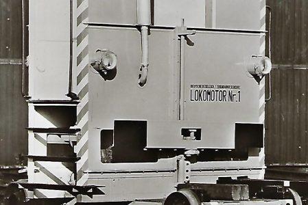 Lokomotive Nr. 1 der Fa. Schreck-Mieves KG. Eisenbahn Bestell-Nr. 5123
