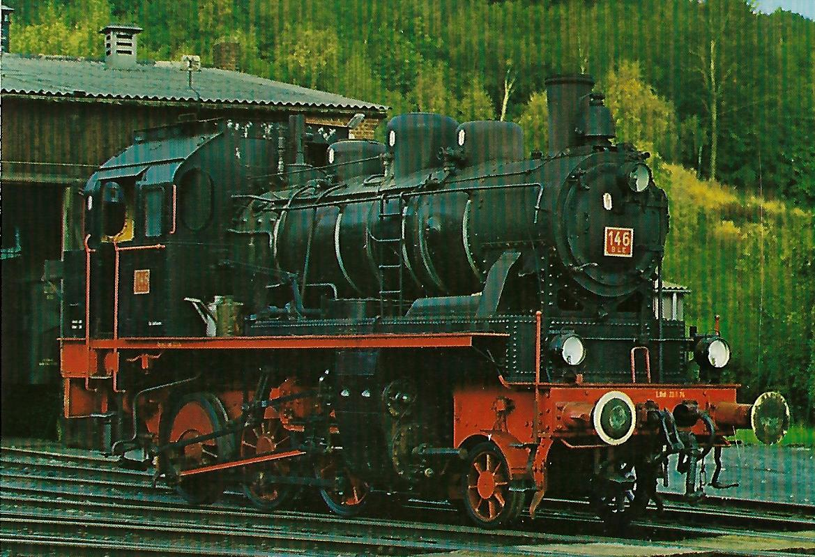 Lokomotive 146 der Butzbach-Licher Eisenbahn AG. Eisenbahn Bestell-Nr. 5139