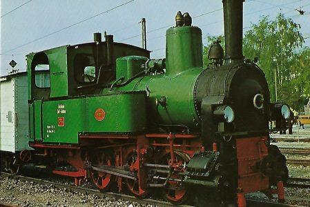 Lokomotive Nr. 74 der Nebenbahn Zell-Todtnau. Eisenbahn Bestell-Nr. 5150