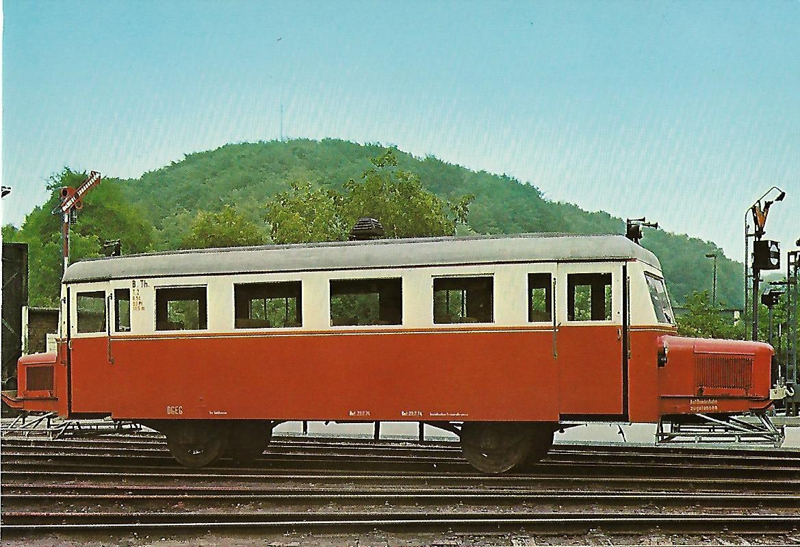 Wismarer Schienen-Omnibus VT 2. Butzbach-Licher-Eisenbahn AG. Eisenbahn Bestell-Nr. 5155