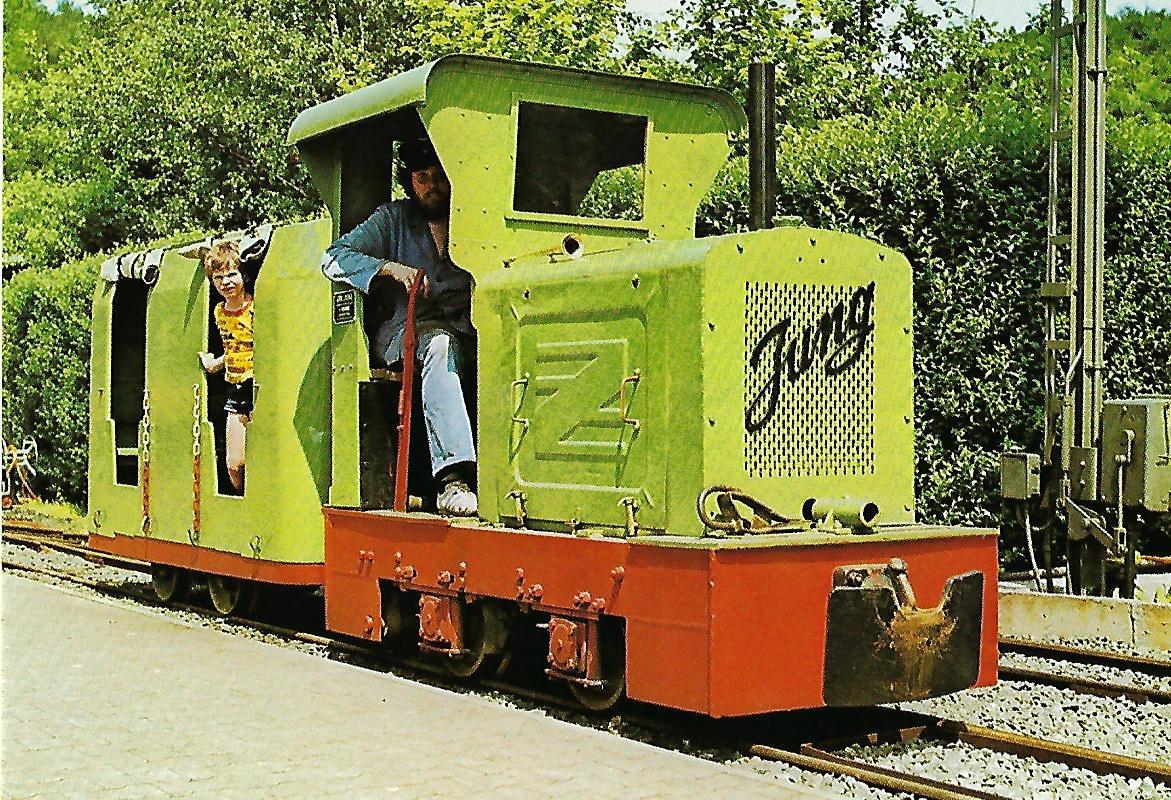 Feldbahn-Lokomotive Nr. 2 in Bochum-Dahlhausen. Eisenbahn Bestell-Nr. 5158