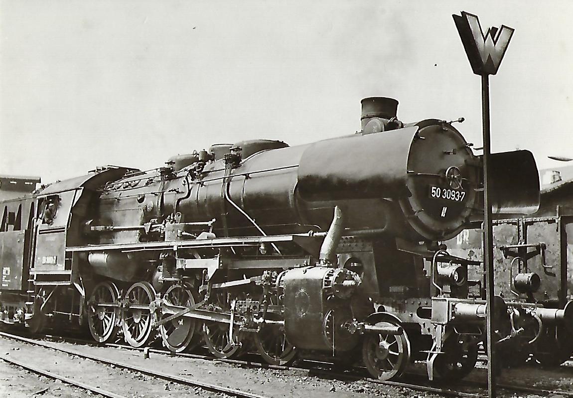 Dampflokomotive BR 50. Eisenbahn Bestell-Nr. 5193