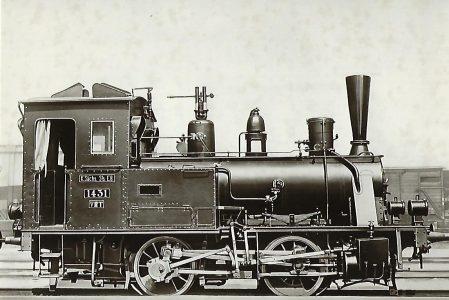 Sächsische VII T Nr. 1431. Eisenbahn Bestell-Nr. 5195