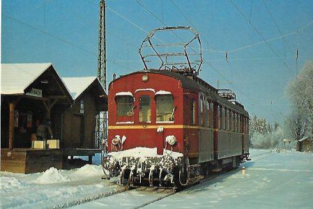 ET 90 03 in Feilnbach. Eisenbahn Bestell-Nr. 5201