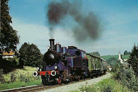 Tegernseebahn-AG Dampflokomotive Nr. 7, Gmunder Berg. Eisenbahn Bestell-Nr. 10205