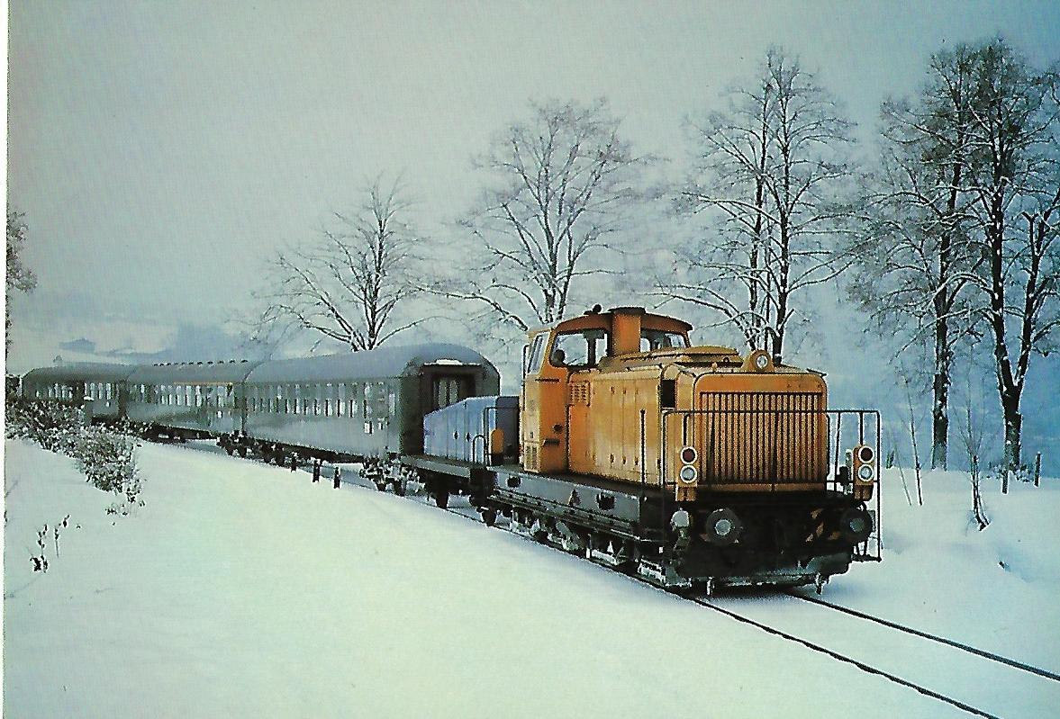Tegernseebahn-AG Diesellokomotive G 1100 BB MaK, Gmunder Berg. Eisenbahn Bestell-Nr. 10206