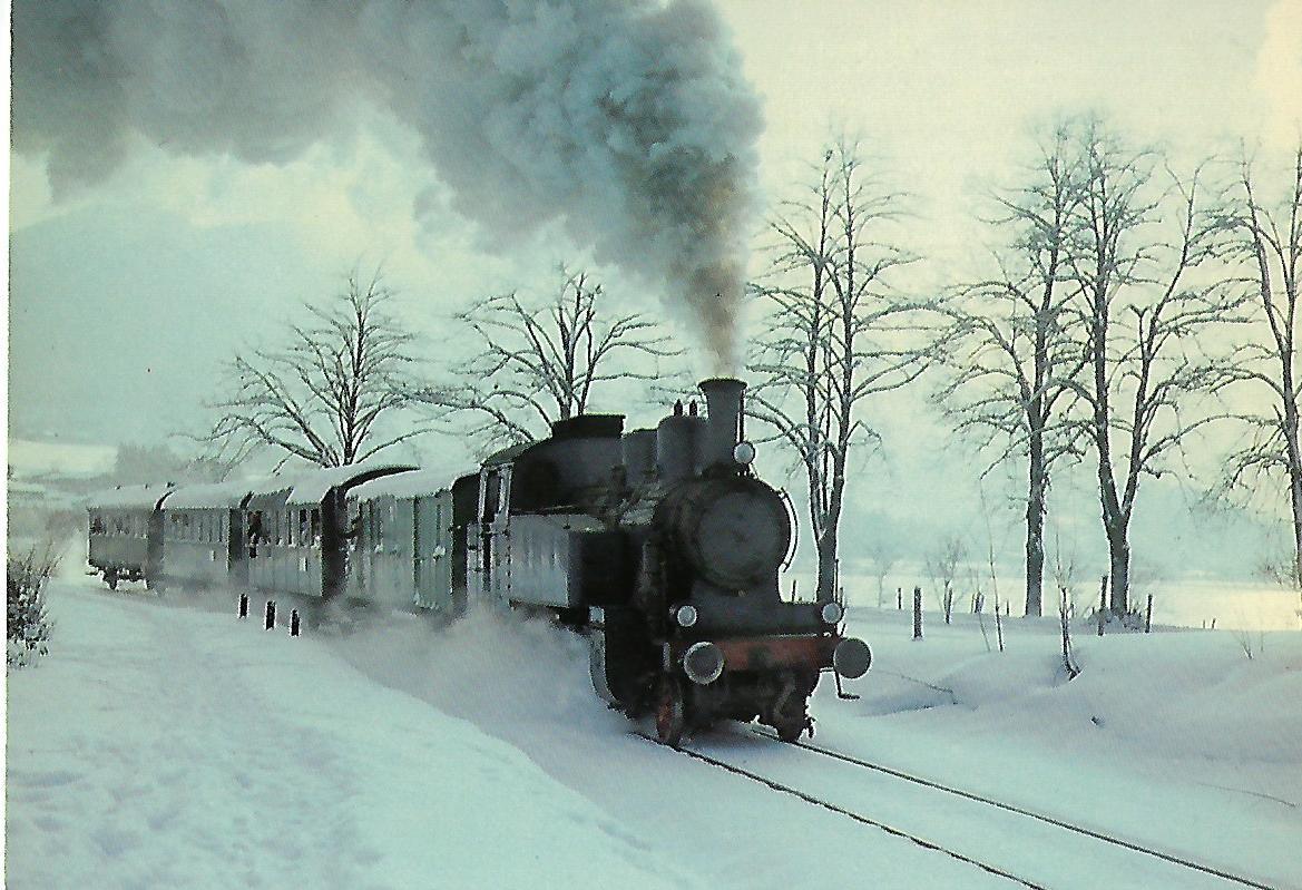 Tegernseebahn-AG Dampflokomotive Nr. 7, Gmunder Berg. Eisenbahn Bestell-Nr. 10207