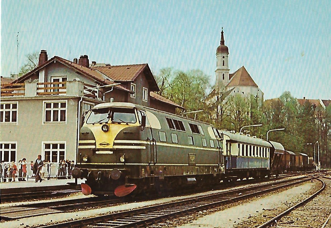 V-Lokomotive KHD, 1957. Eisenbahn Bestell-Nr. 10213