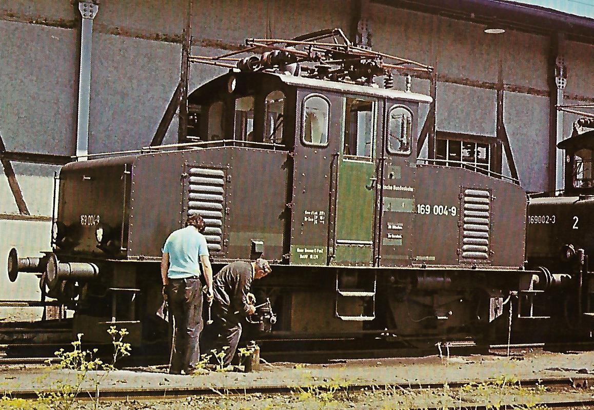 DB 169 004 in Murnau. Eisenbahn Bestell-Nr. 10224