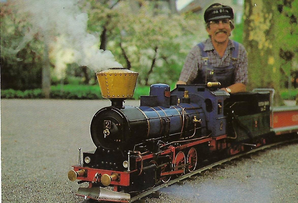 OSTRA-Gartenbahn. Eisenbahn Bestell-Nr. 10245