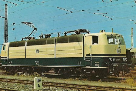 181 222-1 Elektrische Lokomotive. Eisenbahn Bestell-Nr. 10273