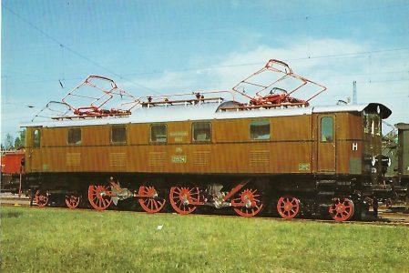 152 034-6 Elektrische Personenzuglokomotive. Eisenbahn Bestell-Nr. 10282