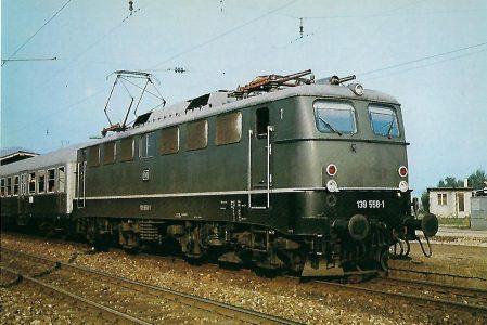 139 558-1 für Steilstrecken im Bhf. Kirchzarten. Eisenbahn Bestell-Nr. 10289