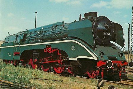 DR 18 201 Schnellzuglokomotive. Eisenbahn Bestell-Nr. 10290